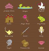 Fantasie-Symbole