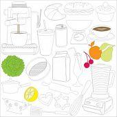 comida, bebida & cocina herramientas