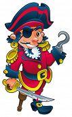Engraçado pirata