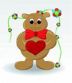 Joyful bear