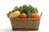 Vegetable In Basket