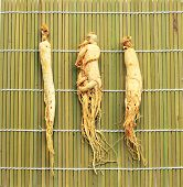 Traditional Chinese Medicine - Sliced ginseng
