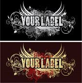 For your label