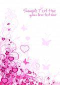 Постер, плакат: Любовь фон