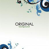 Original floral card