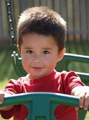 Children-hispanic Toddler Boy