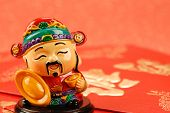 Chinese new year decoration--Chinese traditional mammon figure  for celebration of the lunar new yea