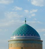 Mosque In An Ancient City Of Yazd poster