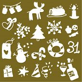 Christmas silhouettes 2