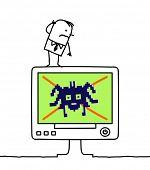 computadora & virus