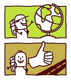 trotamundos & autostopista