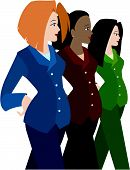 Women In Business Suits (Diversity)