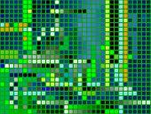 píxeles; Fondo decorativo transparente con efecto de azulejo de mosaico