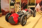 Historic Alfa Romeo Racing Car