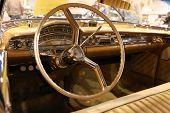 Interior Of The 1958 Oldsmobile