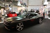 Essen - Nov 29: Custom Dodge Challenger