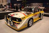 Essen nov 29: Audi Quattro