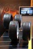 Essen, Deutschland nov 29: kontinentale Reifen