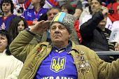 Fãs ucranianos