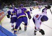 Hóquei no gelo Ucrânia vs Grã-Bretanha