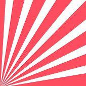 Vector Corner Sunbeam Rays Background. Pink Sunburst Background. poster