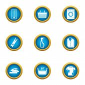 Dirty Icons Set. Flat Set Of 9 Dirty Vector Icons For Web Isolated On White Background poster