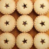 Festive shortcrust pastry mince pies