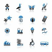 Recreation & Vacation, Icons Set..jpg