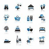 Travel & Recreation, Icons Set
