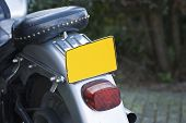 Motor Cycle Plate