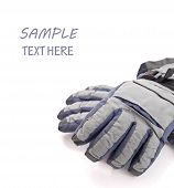 Snow Gloves With Space For Text