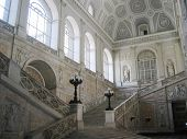 Stairs In Caserta Palace In Naples Italy
