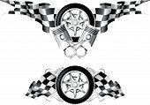Sports Race Embleme