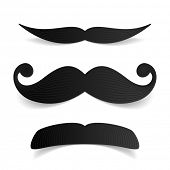 stock photo of rogue  - Mustaches - JPG
