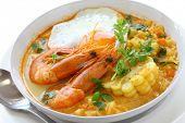 chupe de camarones, peruvian shrimp chowder