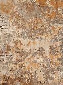 Bonifacio Fortification Wall Plaster, Corsica, France