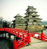 Matsumoto Burg-eine der ältesten in Japan Te