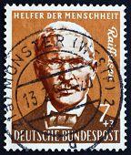 Postage stamp Germany 1958 Friedrich Wilhelm Raiffeisen