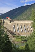 Concrete Hydro Electric Dam