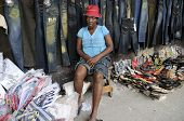 Haitian  Vendor.