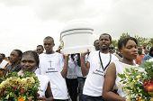 Funeral in Haiti.