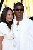 LOS ANGELES - JUL 24: Kenneth 'Babyface' Edmonds & Nicole Edmonds at  the 12th Annual HollyRod Foundation DesignCare Event at Ron Burkle's Green Acres Estate on July24, 2010 in Beverly Hills, CA ....