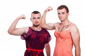 stock photo of cross-dressing  - Cross - JPG