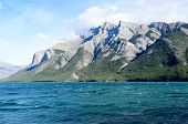 Lake Minnewanka And Mount Inglismaldie