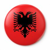 Albania Pin-back