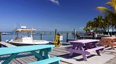 Florida Keys Colorful Marina