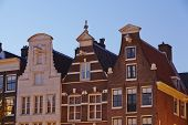 Amsterdam, Netherlands - Gables In The Evening