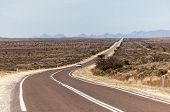 Country Outback Road. Flinders Ranges (near Hawker). South Australia.