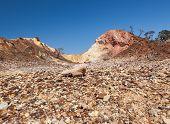 Aboriginal Sacred Valley. Flinders Ranges (near Iga Warta). South Australia.