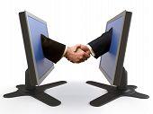 Handshake Between Lcd Screens